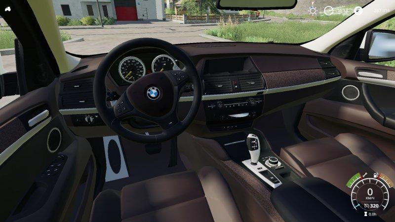bmw x6m 2010 v1 0 fs19 landwirtschafts simulator 19 mods. Black Bedroom Furniture Sets. Home Design Ideas