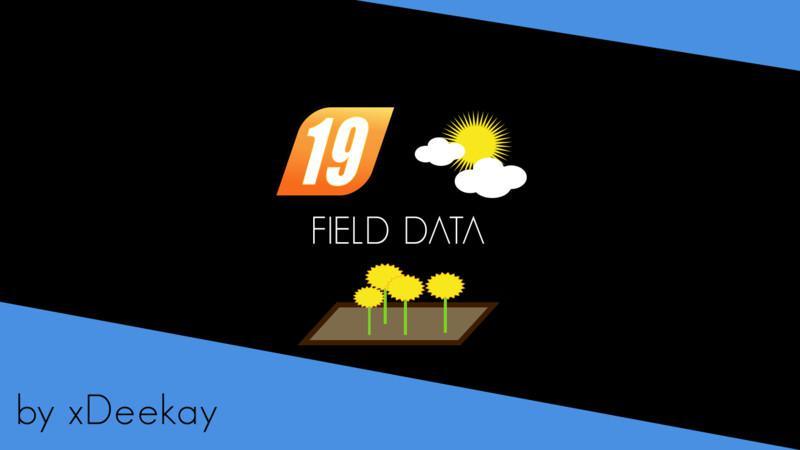 fielddata beta v0 0 0 2 fs19 landwirtschafts simulator. Black Bedroom Furniture Sets. Home Design Ideas