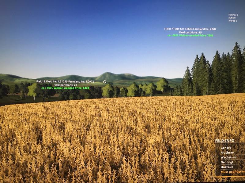 fielddata beta v1 0 fs19 landwirtschafts simulator 19. Black Bedroom Furniture Sets. Home Design Ideas