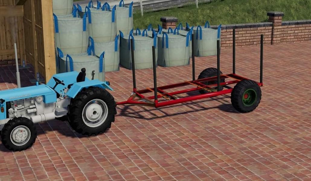 Gemeinsame Holzanhänger v1.0 FS19 | Landwirtschafts Simulator 19 Mods | LS19 Mods @YB_82