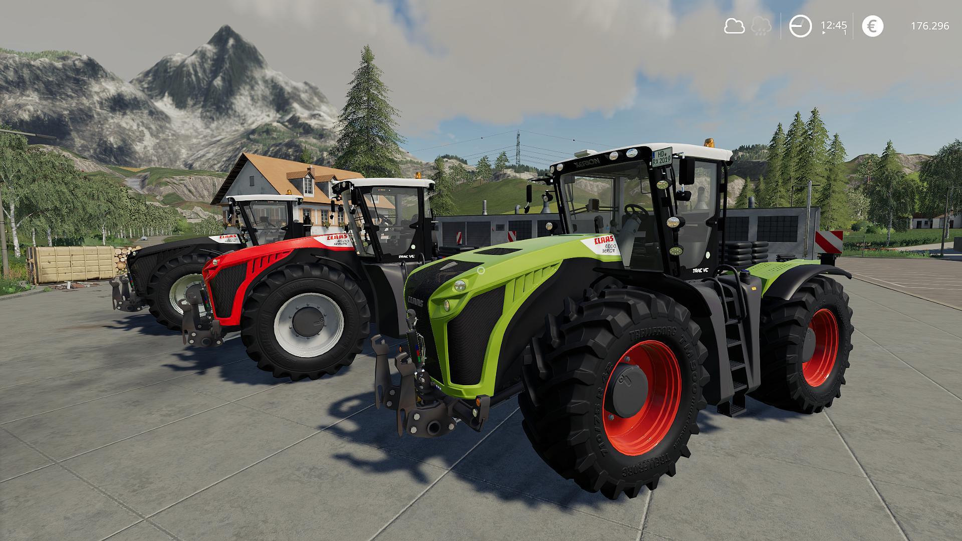 claas xerion 4000 - 5000 v1.0.0.0 fs19   landwirtschafts