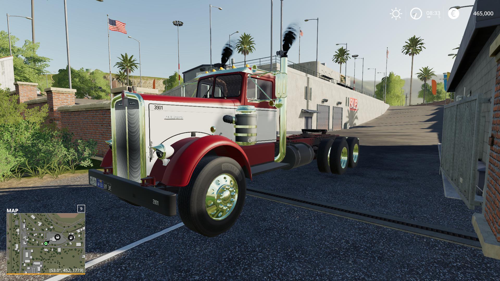 Kenworth 521 v2.0 FS19   Landwirtschafts Simulator 19 Mods ...Kenworth Dump Trucks Fs19