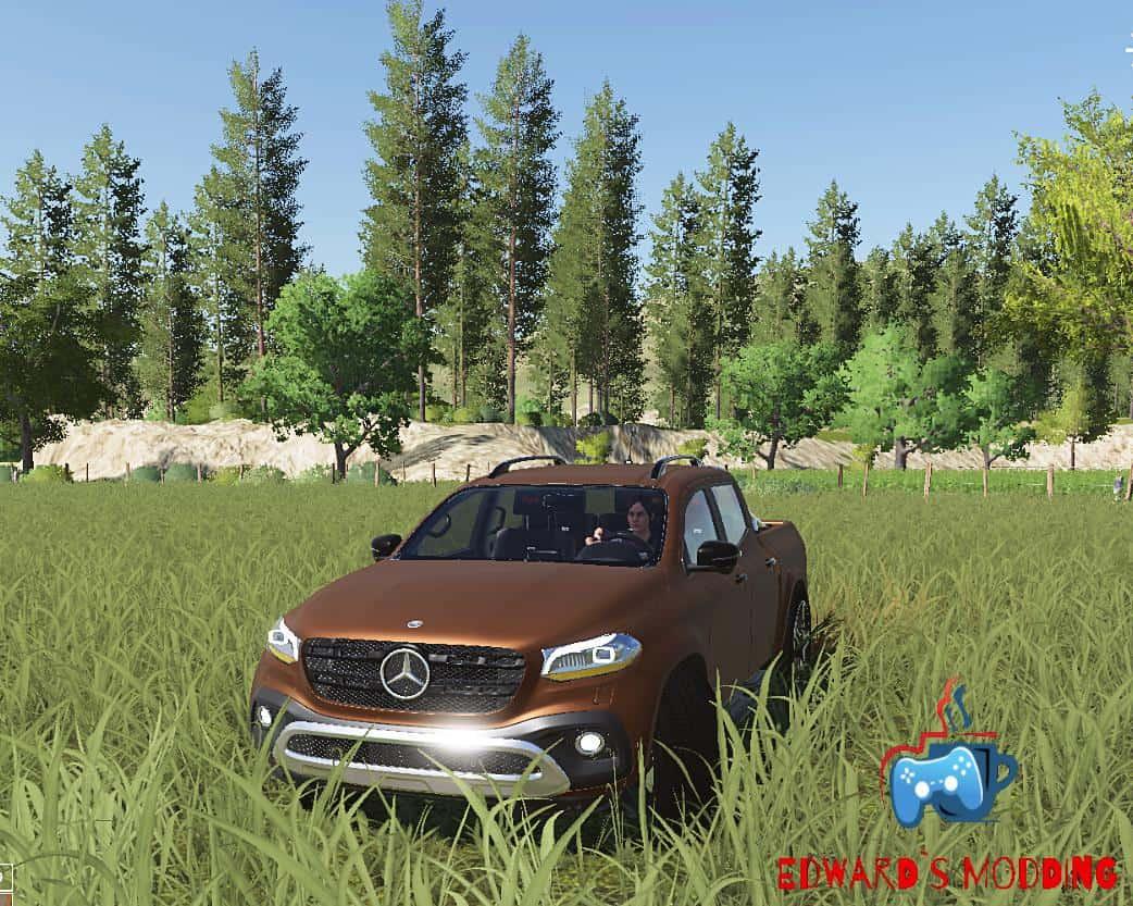 Mercedes X-Klasse v1.0 FS19 | Landwirtschafts Simulator 19 ...